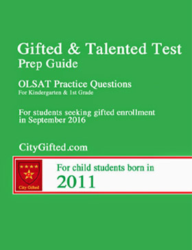 Nnat And Olsat Test Prep City Gifted Goldkey Guide